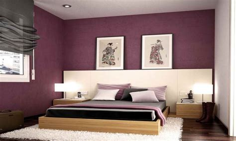 Paint styles for bedrooms, purple paint colors for