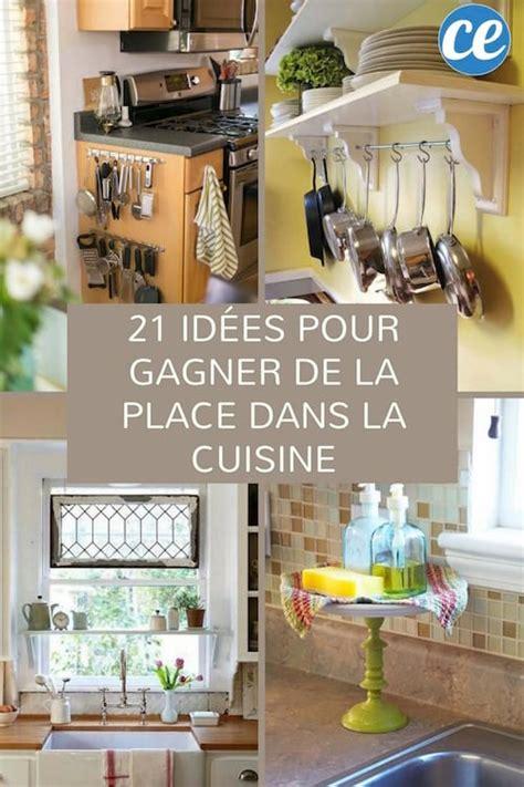 21 Astuces Géniales Pour Gagner De La Place Dans La Cuisine