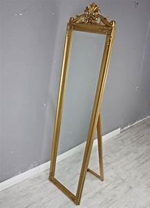 Barock Spiegel Groß : standspiegel gro 180 x 45 cm gold barock spiegel antik landhaus holz patina ebay ~ Whattoseeinmadrid.com Haus und Dekorationen