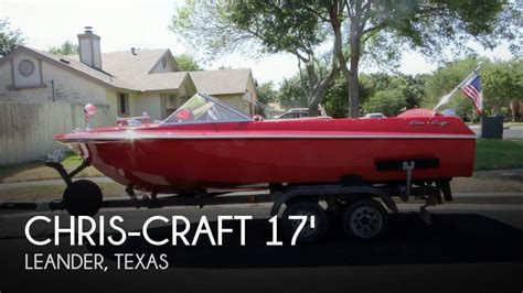 Chris Craft Boats For Sale In Texas by For Sale Used 1969 Chris Craft 17 Cavalier In Leander