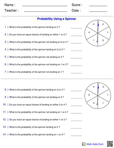Probability Likely Unlikely Certain Impossible Worksheets Pdf Breadandhearth