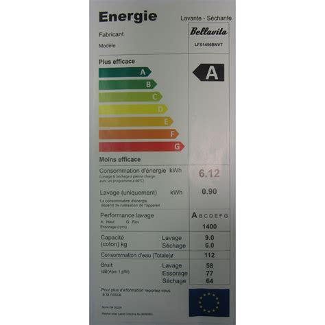 test bellavita by electro d 233 p 244 t lfs1496bnvt lave linge s 233 chant ufc que choisir