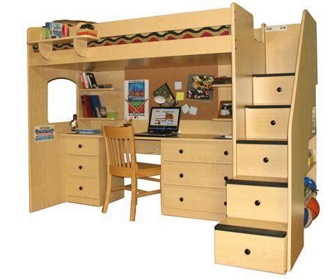 Loft Bed Woodworking Plans by Woodwork Loft Bed With Desk Woodworking Plans Pdf Plans