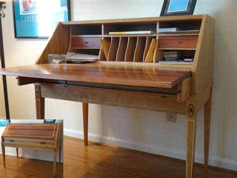 Secretary Desk  Finewoodworking. Lacasse Desk. Desk Rock Garden. 12 Drawer Rolling Cart. Wooden Drawer Storage Unit. Rectangular Marble Coffee Table. Folding Table Dimensions. Adjustable Table Leg. Small Bathroom Vanity With Drawers
