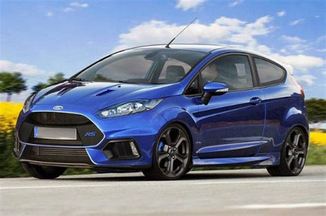 2018 Ford Fiesta St Unveiled Carbuzzinfo