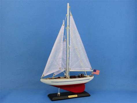Toy Boat Decoration by Buy Wooden Ranger Model Sailboat Decoration 16 Inch Boat