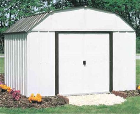 concord 10 w x 14 d arrow metal backyard storage shed kit