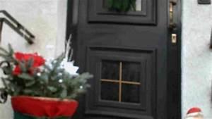 Haus Weihnachtlich Dekorieren : weihnachtliche dekoration vor der hauseingangst r frag mutti ~ Markanthonyermac.com Haus und Dekorationen