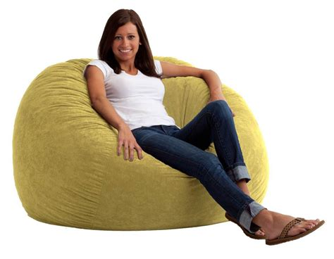 comfort research 4 large fuf bean bag chair in sand dune