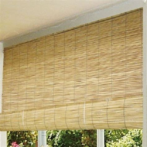 bamboo patio blinds outdoor balcony deck 72 quot roll up wood