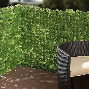 Balkon Sichtschutz Grün : balkon sichtschutz efeu zuschneidbar gr n ca 3 x 1 m ~ Markanthonyermac.com Haus und Dekorationen