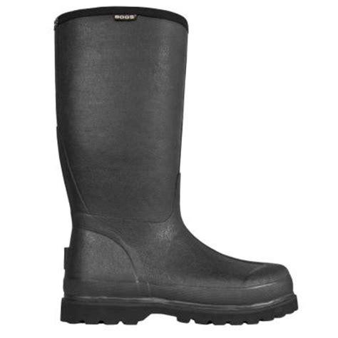 Rubber Boots Home Depot by Bogs Rancher Lite Men 16 In Size 12 Black Waterproof