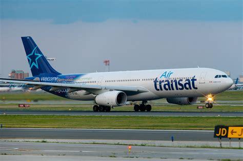 air transat airbus a330 300 c gtsd avi 245 es airbus a330 air transat and aviation
