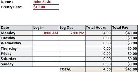 3+ Timesheet Calculator Free Download