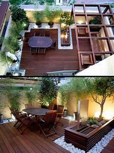 Kleine Terrasse Gestalten : die besten 25 terrasse gestalten ideen auf pinterest gartenweg gestalten betonplatten und ~ Markanthonyermac.com Haus und Dekorationen