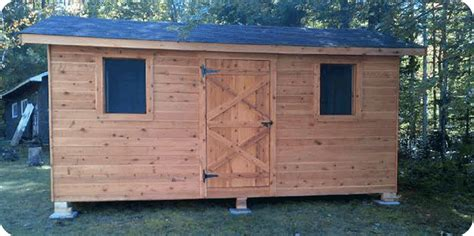 white cedar sheds kaza cabana