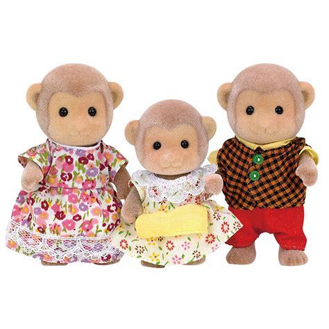 Sylvanian Families Monkey Family Set 643598547269 Ebay