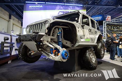 2015 Sema Amanda Ifs/irs Jeep Jk Wrangler Unlimited