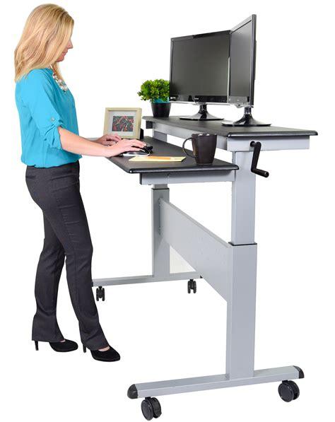 Fantastic Standing Desks & Healthy Office Furniture Stand. Craft Drawer Organizer. Desks With Wheels. Salon Reception Desk. One Drawer File Cabinet. Metal File Drawer Dividers. Distressed Writing Desk. Rv Desk. Stainless Steel Bread Box Drawer Insert