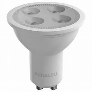 Led 5w Gu10 : 1x duracell gu10 led light bulb 5 5w 50w equivalent frosted glass warm white ebay ~ Markanthonyermac.com Haus und Dekorationen