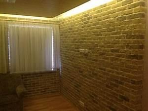 Wand Indirekt Beleuchten : 10 ideen f r eine steinwand im wohnbereich fliesen fieber ~ Markanthonyermac.com Haus und Dekorationen