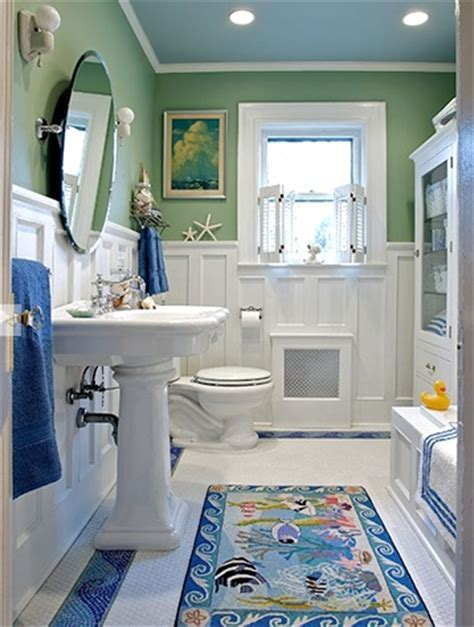 Nautical Sensation Sealight Floor L by 15 Bathroom Ideas Completely Coastal
