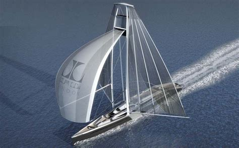 Yacht Boat Music by Feature Radical New Sailboat Concept Twin Masted Swing