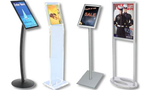 sign holders for sale countertop floor frames for ads or photos