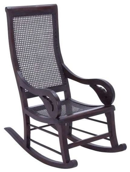 teak wooden solid rocking chair for indoor and outdoor furnishing transitional rocking