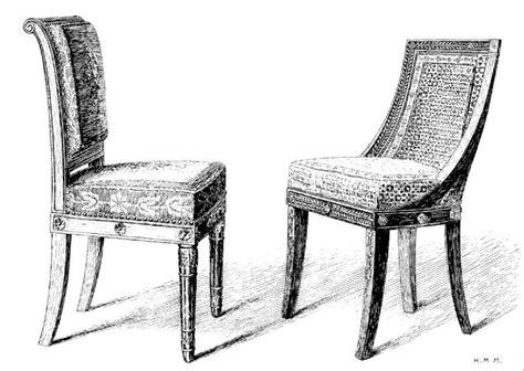chaise dessin