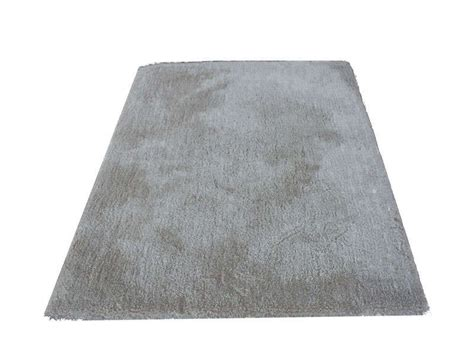 tapis 120x170 cm velour coloris gris conforama pickture