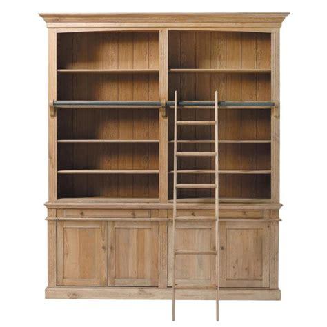 biblioth 232 que en ch 234 ne massif l 200 cm atelier maisons du monde