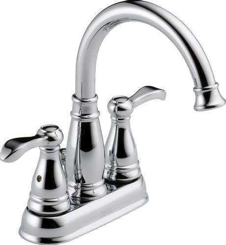 delta 174 porter 174 4 in 2 handle high arc bathroom faucet at