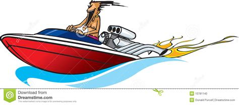 Boat Safety Videos Free by Speed Boat Maniac Stock Illustration Illustration Of