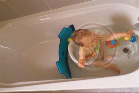 parole de lectrice gwen nous pr 233 sente le r 233 ducteur de baignoire babydam boutdezou mon guide