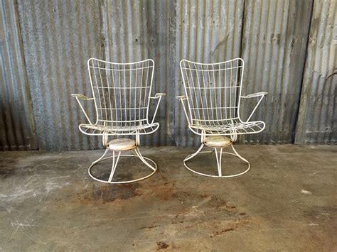 midcentury patio chairs homecrest vintage rocking chair
