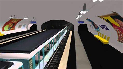 msts metro parisien ligne 3 bis gambetta porte des