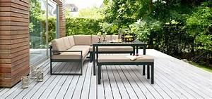 Loungemöbel Outdoor Ausverkauf : aluminium loungem bel auf der terrasse ~ Markanthonyermac.com Haus und Dekorationen