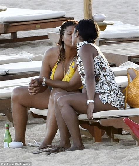Boat Names With Young by Queen Latifah Steps Out In Yellow Swimsuit As She Shares A