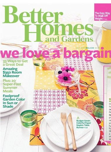 Better Homes And Gardens Magazine Subscription 15 best images about publication design magazines on