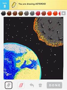 Asteroid Drawings - How to Draw Asteroid in Draw Something ...
