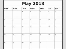 Free May 2018 Marathi Calendar – Printable Templates
