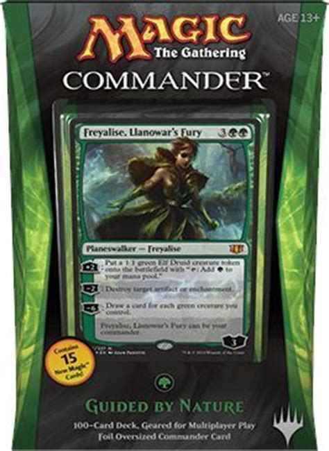 commander 2014 guided by nature deck mtg magic the gathering sealed product magic the