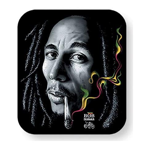 bob marley rasta smoke sticker