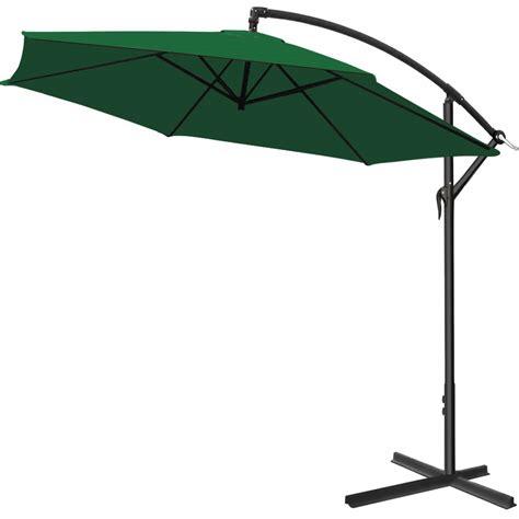 parasol with crank 216 300cm garden sunshade banana umbrella market ebay