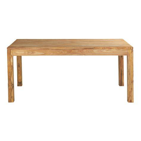 table de salle 224 manger en bois de sheesham massif l 180 cm stockholm maisons du monde