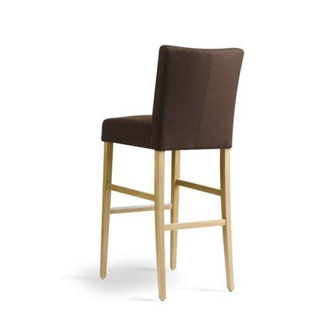 tabouret de bar en bois et tissu carr 233 mobitec 174 4 pieds tables chaises et tabourets