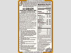 Bob S Red Mill Millet Flour Nutrition Facts Nutrition Ftempo