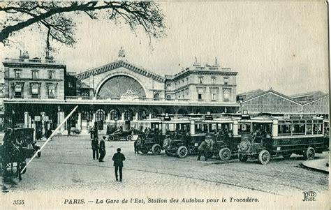 gare de l est histoire