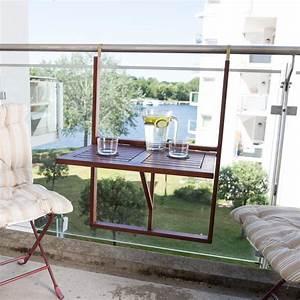Hängetisch Balkon Geländer : ultranatura canberra h ngetisch f r den balkon balkontisch aus holz zum aufh ngen an ~ Whattoseeinmadrid.com Haus und Dekorationen